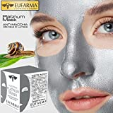 TrAdE shop Traesio- EUFARMA PLATINUM MASK ANTI MACCHIA ALLA BAVA DI LUMACA MASCHERA VISO BEAUTY 50ML