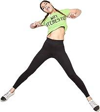 Adorna Active Leggings - Black