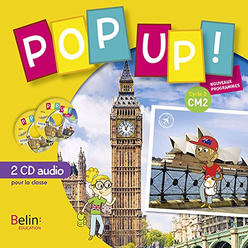 Pop up CM2 pack 2 CD