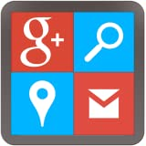Tabs for Google (G+, Gmail, Maps, Search)