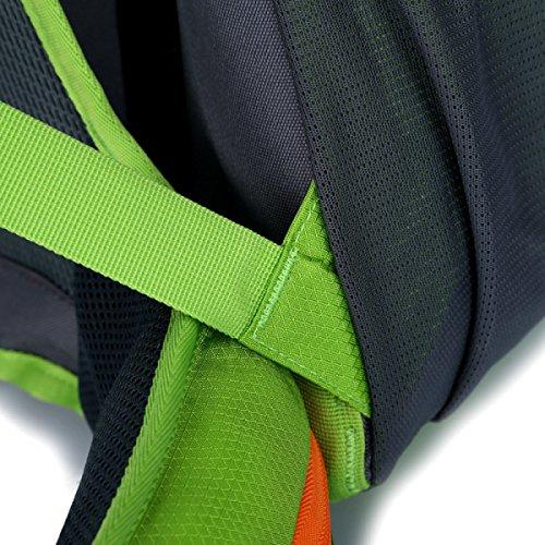 Borsa Da Viaggio Alpinismo Borsa Da Viaggio A Zaino Da Viaggio Con Doppia Borsa A Tracolla Sport Uomo E Donna Borsa Da Viaggio,Green Green