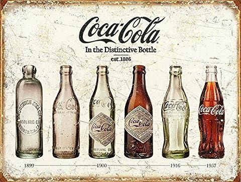 Coca Cola rétro Boîte en métal de style vintage plaque murale fantaisie Cadeau