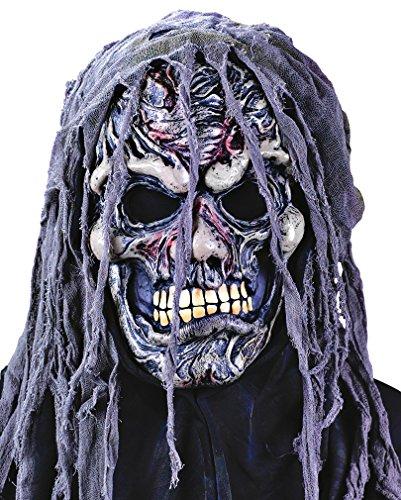Blutige Fetzen Zombie Maske Halloween Horror (Maske Blutige)