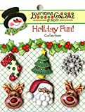 Holiday Buttons-Reindeer Games