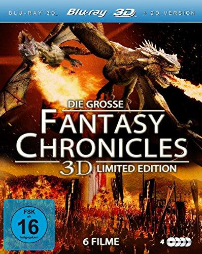 Bild von Die große Fantasy Chronicles 3D Limited Edition (6 Filme im 4 Disc Set) [3D Blu-ray]