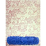 #6: Kayra Decor designer wall decor DIY imported quality 7 inch Silicone Rubber Paint Roller Brush for your wall