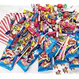 100 x Mixed Variety Sweets Party Bag, Sweet Favours, Pinata Fillers, Popular sweets, Retro Candy