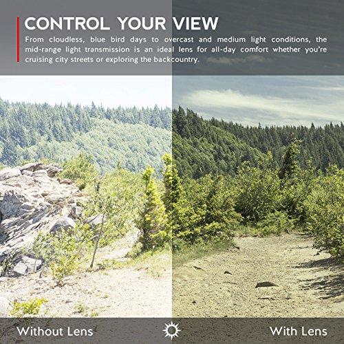 Verres de rechange pour Oakley Fives 3.0 — Plusieurs options Gris Vert - Polarisés
