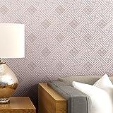 ZZYY*La tutela ambientale non-tessuto di sfondo _ in stile retrò colore di sfondo parete ricoperta con carta comune,argento - ZZYY - amazon.it