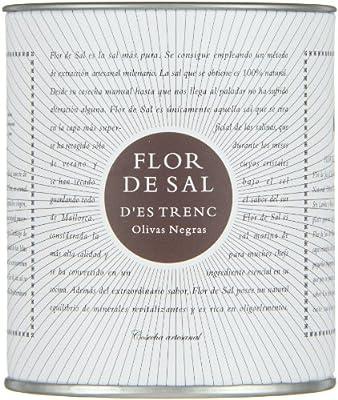 Gusto Mundial Flor de Sal Olivas Negras, 1er Pack (1 x 150 g von Gusto Mundial - Gewürze Shop