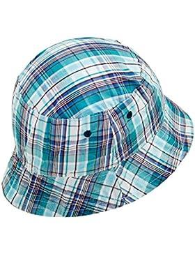 Fiebig Sombrero De Pescador Niños Gorro Ocio Tela Verano Vacaciones A Cuadros Para (FI-80889-S17-JU0) incl. EveryHead-Hutfibel