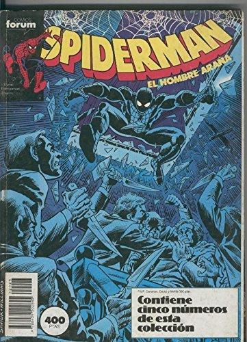 Spiderman retapado 191 al 195