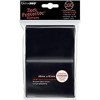 Ultra Pro - 330487 - Jeu De Cartes - Housse De Protection - Black Solid - 100 Pièces
