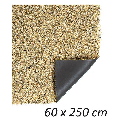 Heissner Steinfolie 0,6 m x 2,5m für Bachlauf, Teichrand, Uferfolie, Kiesfolie