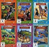 Indianerjunge YAKARI - GESCHENKBOX komplett 1 2 3 4 5 6 DIE TV-SERIE 12 DVD + 12 CD Hörspiele Box Edition