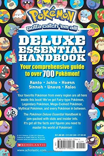 Image of Pokemon: Deluxe Essential Handbook