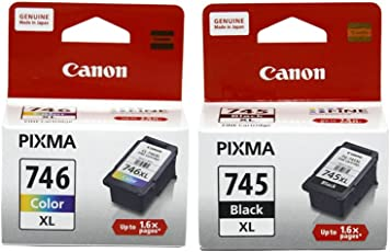 Canon Combo of PG-745XL And CL-746XL Ink Cartridge (PG-745XL Black:CL-746XL Color)