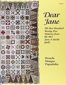 EZ Quilting 882670199 Livre sur le Patchwork Dear Jane
