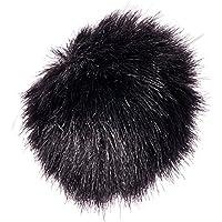 RØDE MINIFUR-LAV Artificial Fur Wind Shield - Black