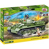 SMALL ARMY /2470/ T34/76 M 1941 400 building bricks by Cobi