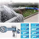 TryoKart Jet Water Cannon 8 In 1 Turbo Water Spray Gun For Gardening, Car Wash, Home Cleaning