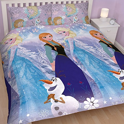 Disney Frozen Crystal Double Rotary Duvet Set