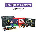 Magic Crate Activity Kit for 6+ Year-olds: The Space Explorer ( Contains 2 Activities, 1 Game and 1 Storybook)