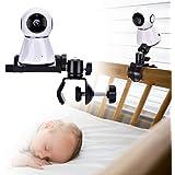 Eurobuy Baby Kamera Halterung, Universal Baby Monitor Halter, 360 Grad drehbarer Verstellbarer Halter, hält Ihr Baby im Blickfeld, passend für die meisten Babyphone-Geräte