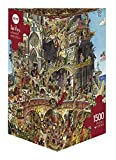 Heye 29118 - Dreieckspuzzles 1500 Teile Heaven Hell, Hugo Prades