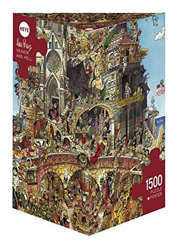 Heye 29118 - Paradiso e Inferno, Puzzle 1500 Pezzi, Multicolore