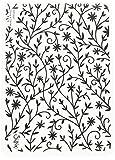 Sizzix Blume Strukturierte Impressions Prägeschablone