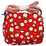 Okami Bags Camomilla Milano Umhängetasche Klein Schultertasche für Mädchen Rot