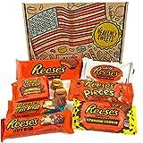 Confezione Assortita di Snack Reeses | Barrette Cioccolato Perfetta Idea Regalo di Natale e Compleanno | Selezione di Cioccolatini al Burro di Arachidi | 9 pezzi in Confezione Vintage di Cartone