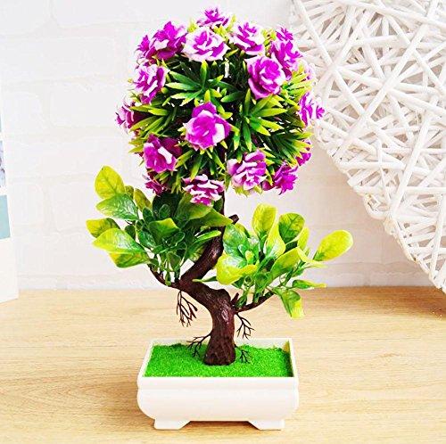 Newsbenessere.com 61ZnJbyo14L Alberi artificiali decorativi con la fioritura Bonsai moderna del Feng Shui simulazione fiori albero (Multi-color multi-stile),WB3056 , #27