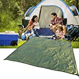 JTENG Outdoor Waterproof Camping Shelter Tent Tarp Footprint Groundsheet Blanket Mat