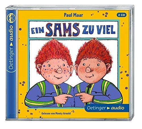 Preisvergleich Produktbild Ein Sams zu viel (2 CD): Ungekürzte Lesung, ca. 130 Min.