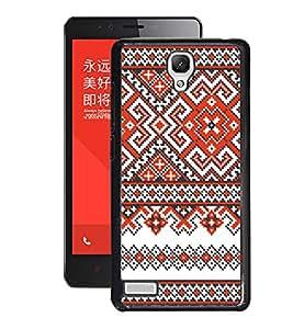 Fuson 2D Printed Design Pattern Designer Back Case Cover for Xiaomi Redmi Note 4G - D991