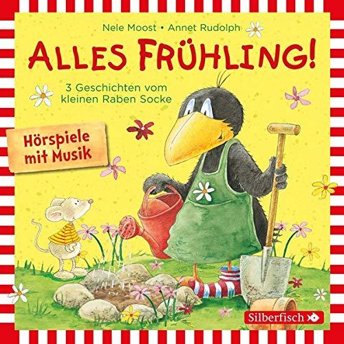 Alles Frühling!: Alles Freunde!, Alles wächst!, Alles gefärbt!: Drei Geschichten vom kleinen Raben Socke: 1 CD (Kleiner Rabe Socke)