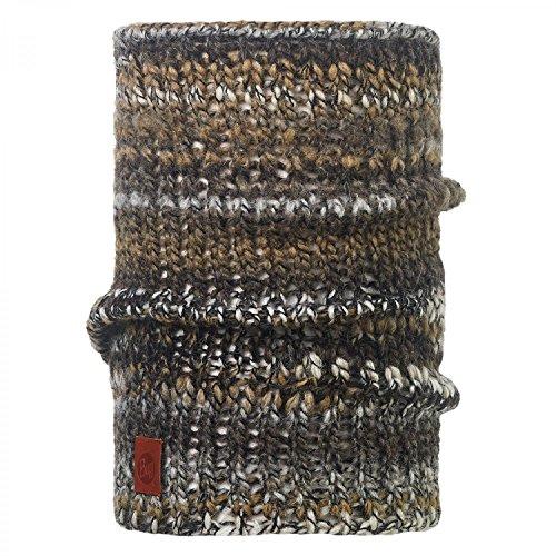 Buff Raw Neckwarmer Knitted Loop brown Major