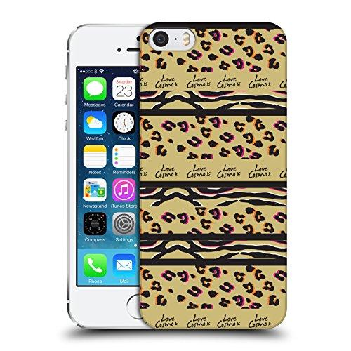 Official Cosmopolitan Zebra Leopard Animal Print Hard Back Case for Apple iPhone X Stripes