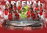 My Little Poster Poster Stade Arsenal Stadium Fussball Wand
