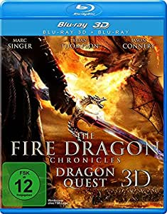 The Fire Dragon Chronicles 3d - Dragon Quest [Blu-ray] [Import allemand]