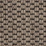 Teppichboden Auslegware | Sisal-Optik Schlinge | 400 und 500 cm Breite | beige braun | Meterware, verschiedene Größen | Größe: Muster