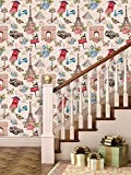 PPD Wallpapers. High Quality Stone Brick Wall Effect Pre Gummed Wallpaper (Self Adhesive) (Small Roll / 26.7 SqFt) (15)