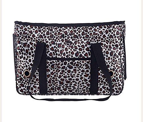 Dixinla Haustier Rucksack PVC aus Tasche Tragbare Haustier Hund Gepäck Cat Cage -