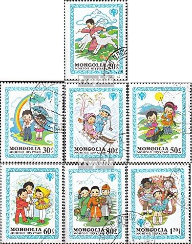 Prophila Collection Mongolei 1348-1354 (kompl.Ausg.) 1980 Jahr des Kindes: Märchen (Briefmarken für Sammler) Comics