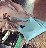 Korea ulzzang new single shoulder embossed ladies wind Xiekua package portable East Gate simple bag,Big blue