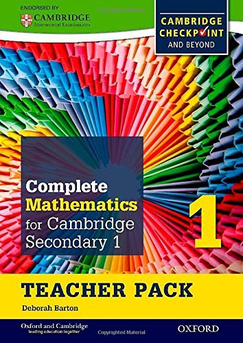 complete mathematics for cambridge secondary 1 free download