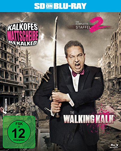 Kalkofes Mattscheibe Rekalked - Die komplette 2. Staffel: The Walking Kalk (SD on Blu-ray)