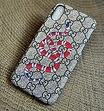 hoisam Luxus Designer GG Stil Schutzhülle für iPhone 7/8 [4.7